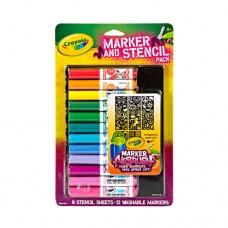 Bút lông 12 màu Crayola