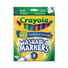 Bút lông 8 màu Crayola