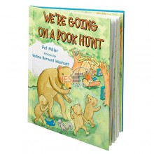 We're Going On a Book Hunt Picture Book by Pat Miller