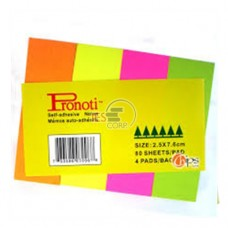 Giấy dạ quang 4 màu Prononti