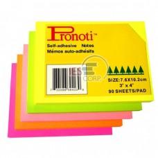 Note màng film neon 5 màu