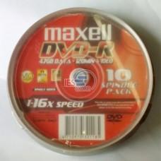 Đĩa DVD Maxell (Lốc 10)